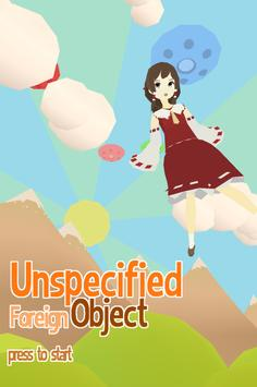 Unspecified Foreign Object poster