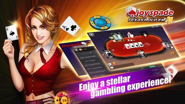 Joyspade Texas Poker poster