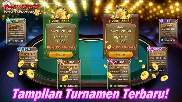 Joyspade Texas Hold'em Poker apk screenshot