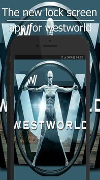 westworld lock wallpapers poster