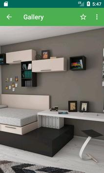 Home Interior 3D poster