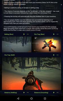 Survival Aid for The Long Dark apk screenshot