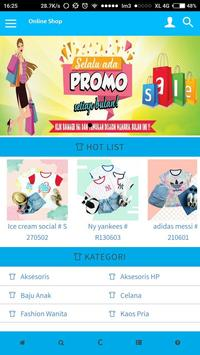 bajutiam - online shop poster