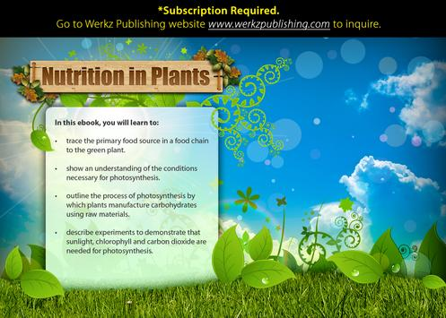 Nutrition in Plants poster