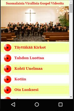 Suomalaisia Virallisia Gospel Videoita apk screenshot