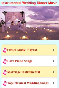 Wedding Meal Music Instruments poster
