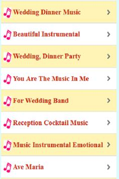 Wedding Meal Music Instruments screenshot 1