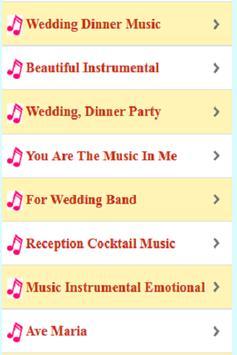 Wedding Meal Music Instruments screenshot 5