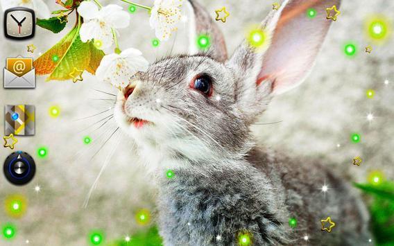Funny Bunnies live wallpaper apk screenshot