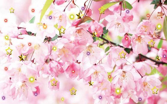 Pink Flowers live wallpaper screenshot 4