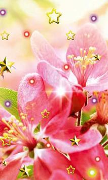 Pink Flowers live wallpaper screenshot 2