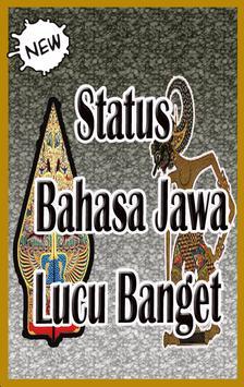 Status Bahasa Jawa Lucu Banget. poster