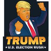 Trump. U.S. Election Rush icon
