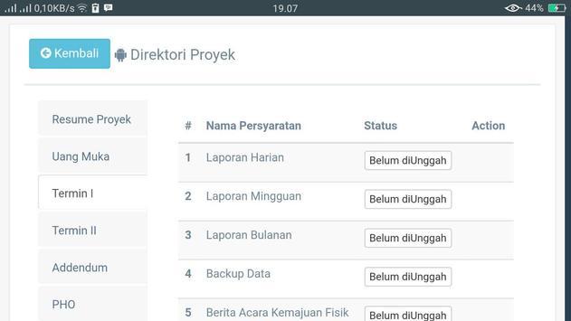 E-Termin PPTK screenshot 4