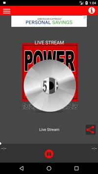 WETI Power 103.5 FM poster