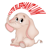 Cute Elephant Link icon