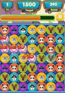 Cat and Dog Match Link screenshot 1
