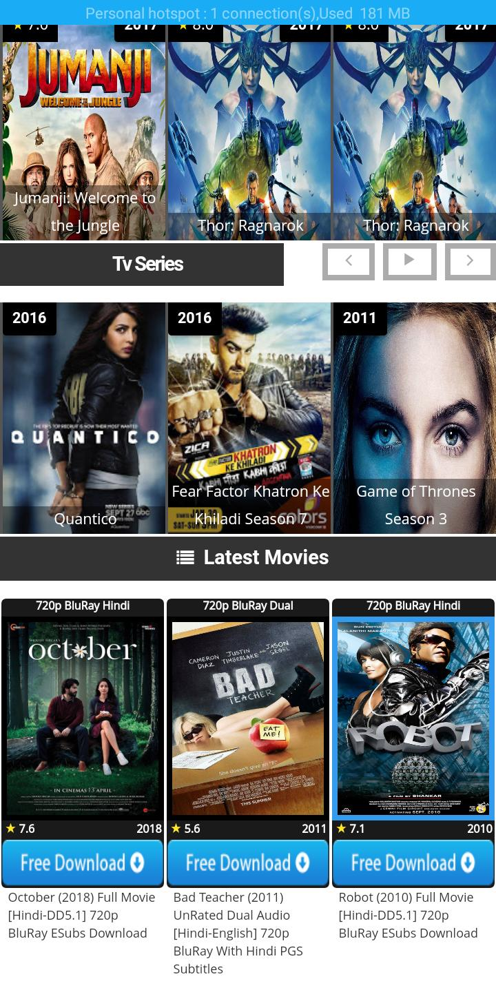 extra movies hd for Android - APK Download