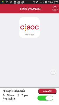 CISOC PROVIDER apk screenshot