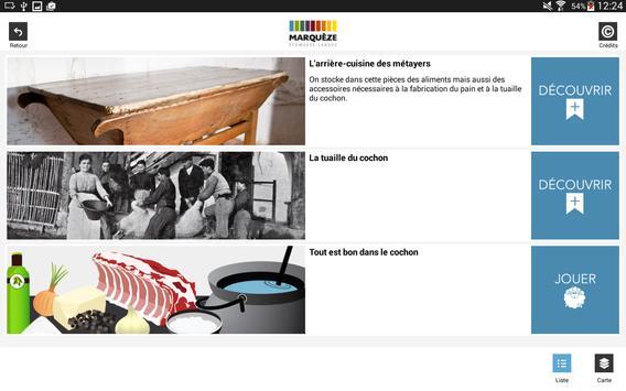 Ecomusée de Marquèze apk screenshot