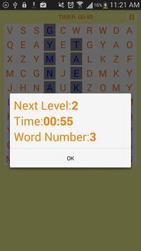 WordSearch free apk screenshot