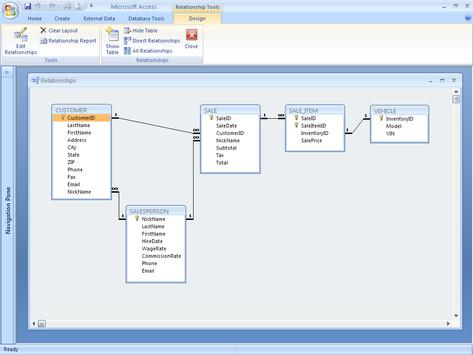 learning m s access 2007 apk screenshot