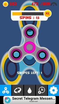 fidget spinner SKE apk screenshot