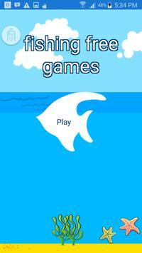 fishing game free poster