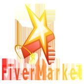 fivermarket marketplace icon