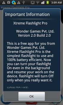 XTREME FLASHLIGHT PRO 2 poster