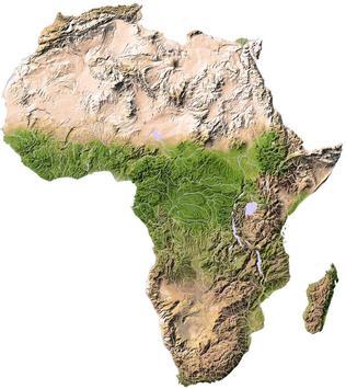 Senegambia Maps poster