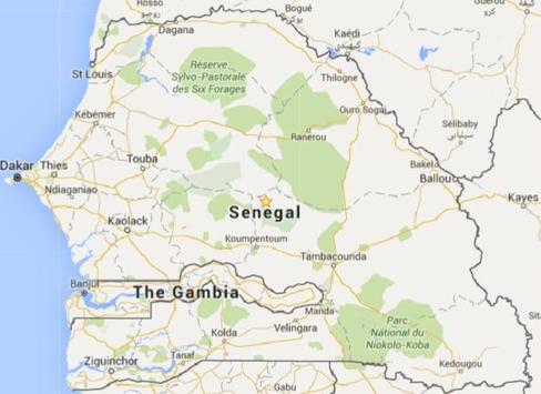 Senegambia Maps apk screenshot
