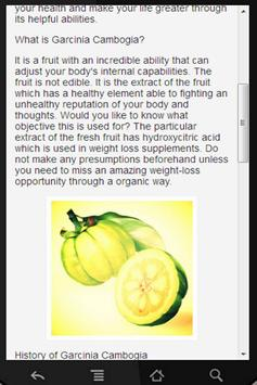 Garcinia Cambogia Extract apk screenshot