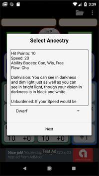 Second Edition Character Sheet screenshot 7
