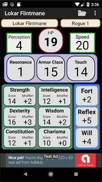 Second Edition Character Sheet screenshot 8