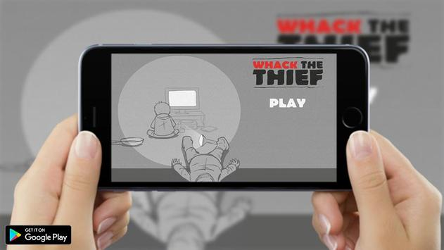 whack the thief Tips poster