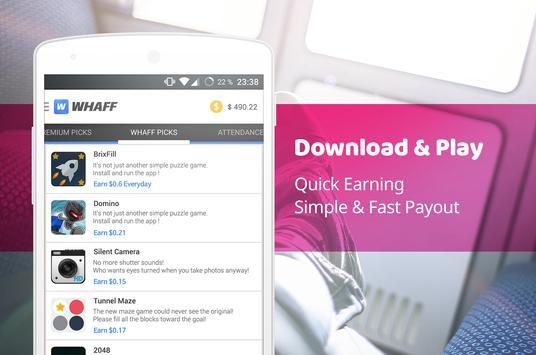 WHAFF Rewards apk screenshot
