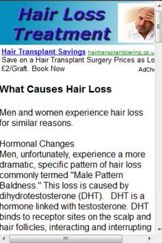 Hair Loss screenshot 1