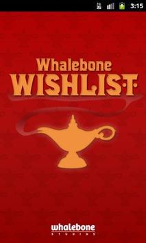 Whalebone Wishlist poster