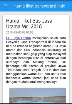 harga tiket transportasi di Indonesia screenshot 3