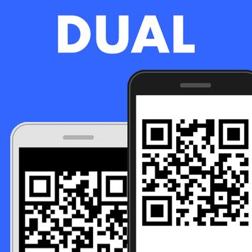 Tablet Scan messenger Dual Accounts poster