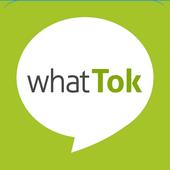 whattok - chat, videochat icon