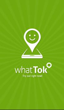 whattok - chat, videochat poster