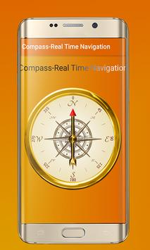 Compass – Real Time Navigation poster
