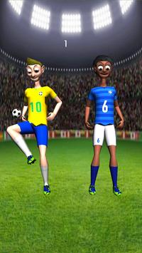 Brazil Football Juggler apk screenshot
