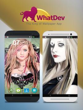 Avril Lavigne Wallpaper 4K poster