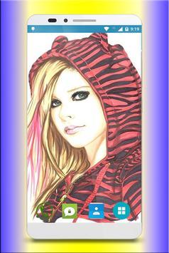 Avril Lavigne Wallpaper 4K screenshot 3