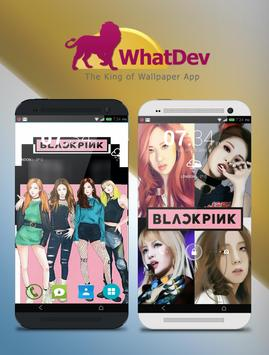 Black Pink Wallpaper HD poster