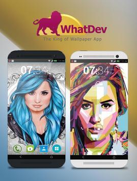 Demi Lovato Wallpaper HD poster