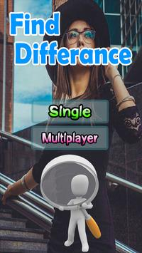 Spot 5 Differences Game poster